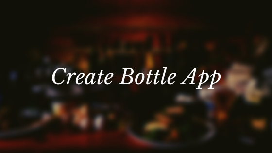create bottle app.png